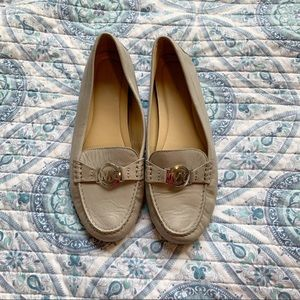 Michael Kors women's leather loafers size 10